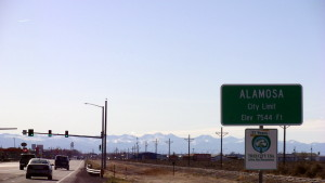 Alamosa, CO city limits.