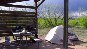Campsite at Caprock Canyon St Park